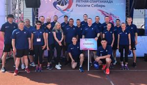 Команда Алтайского филиала – победитель XIII летней Спартакиады энергетиков «Россети Сибирь».