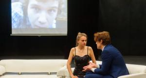 Репетиция лаборатории по современной драматургии в МТА
