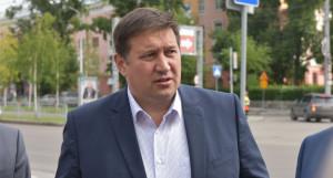Министр транспорта Алтайского края Александр Дементьев.