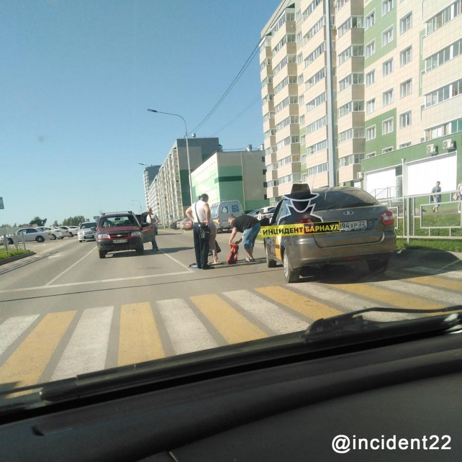 ДТП на ул. Ускова.