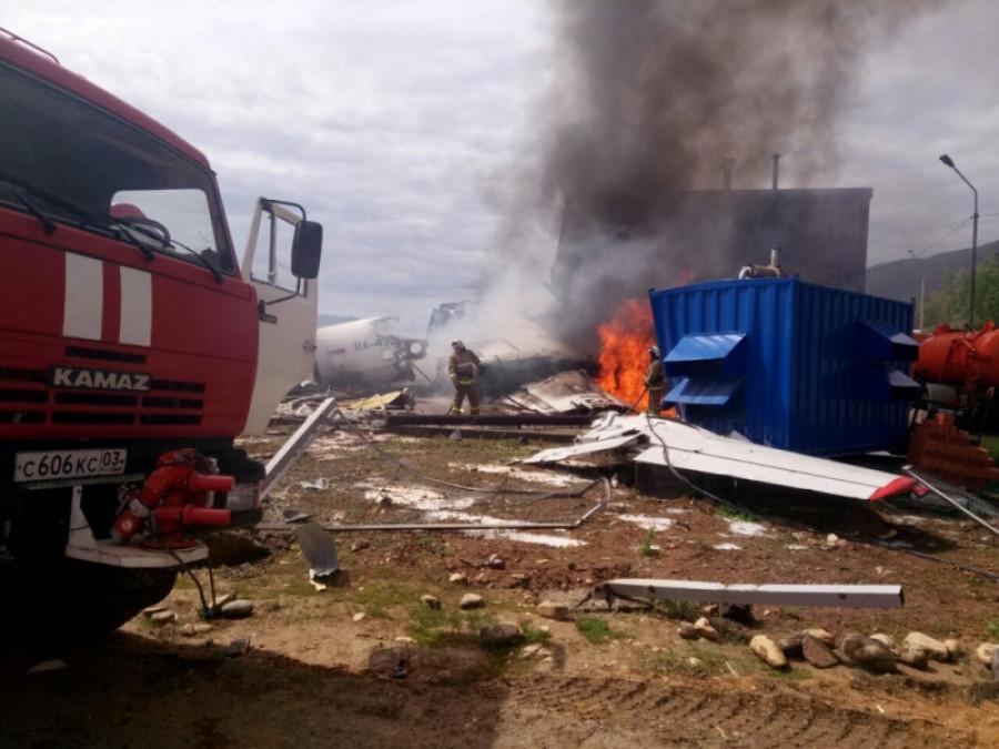 Авиакатастрофа в аэропорту Нижнеангарска