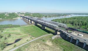 Старый мост в Барнауле.