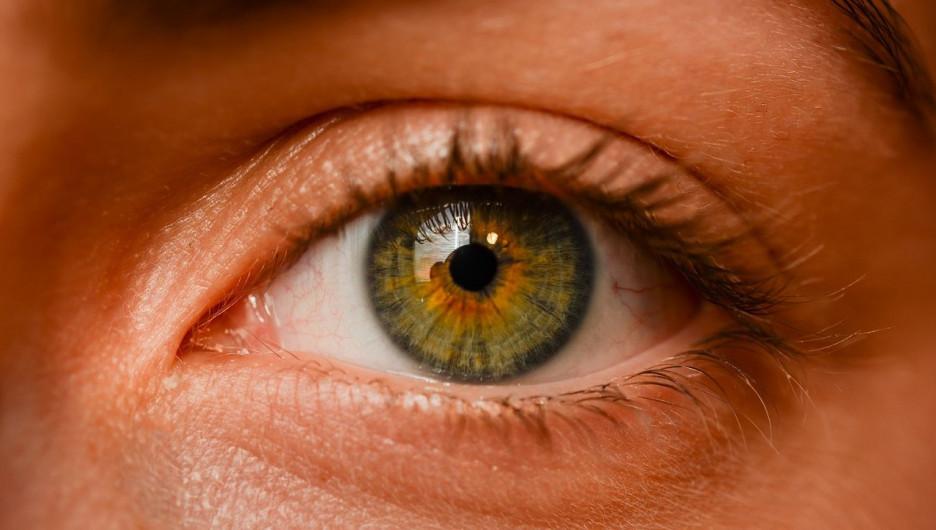 Глаз.
