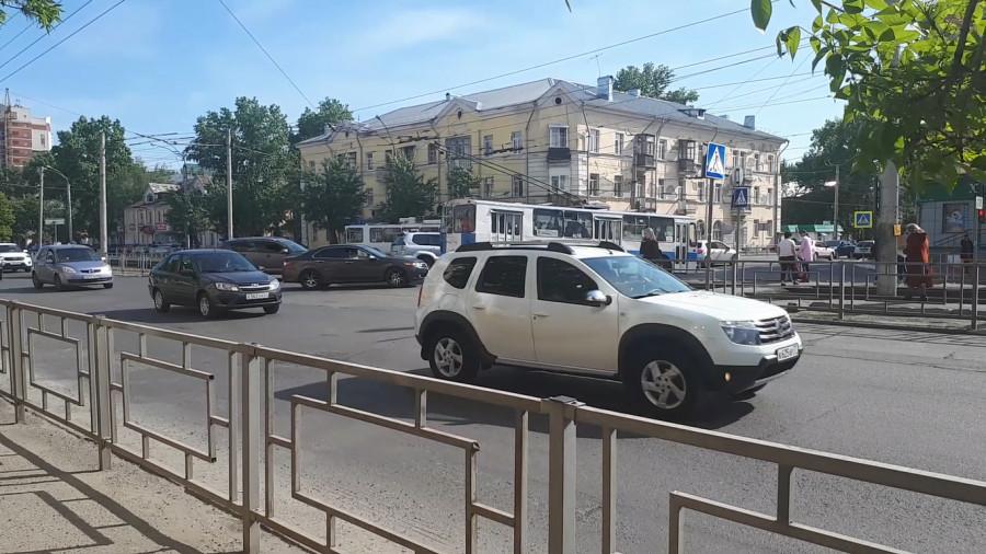 Пересечение Ленина -Матросова.
