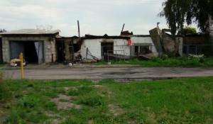Пожар в Новомихайловке.