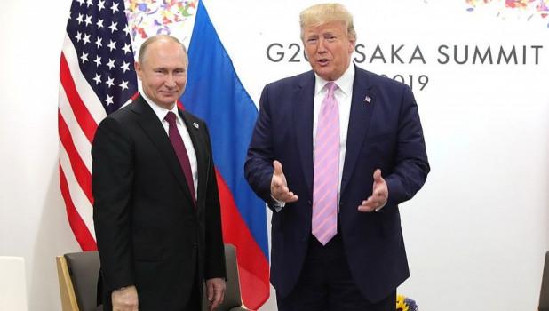 Встреча Путина и Трампа продлилась более часа и завершилась Победой