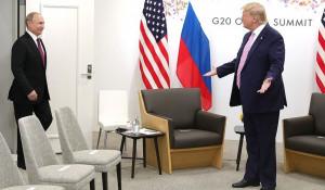 Владимир Путин и Дональд Трамп.