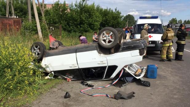 ДТП в Бийске 1 июля.