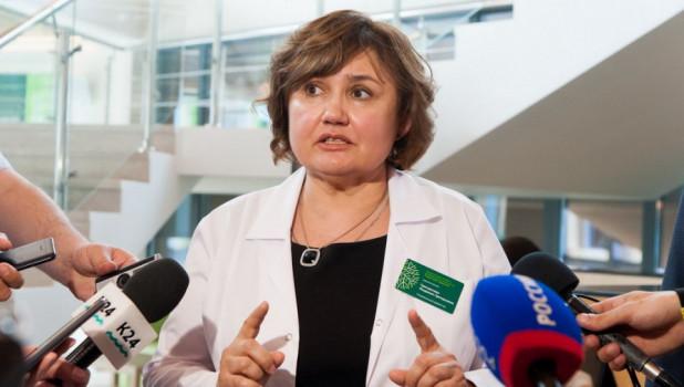 Экс-директор крупного медцентра Барнаула стала временным главой алтайского минздрава