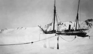 Зимовка судна «Святой великомученик Фока» у берегов Новой земли. Экспедиция Георгия Седова к Северному полюсу (1912 год)