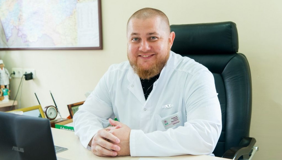 Главный врач Консультативно-диагностического центра «Добрый доктор» Богданов Сергей Викторович.