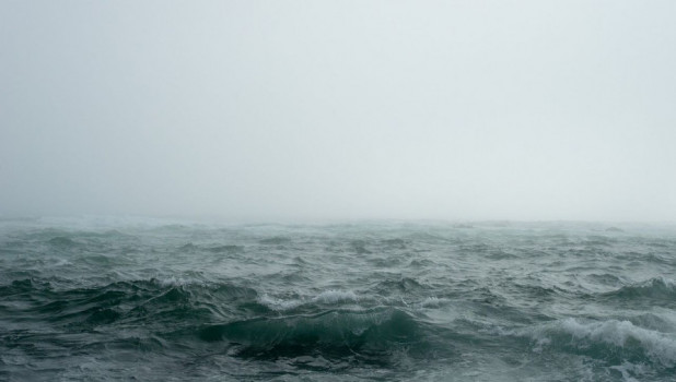 Море. Туман.