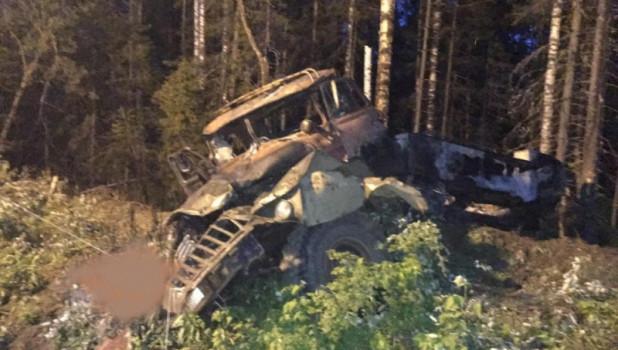 В Свердловской области взорвался бензовоз, на котором ехали туристы