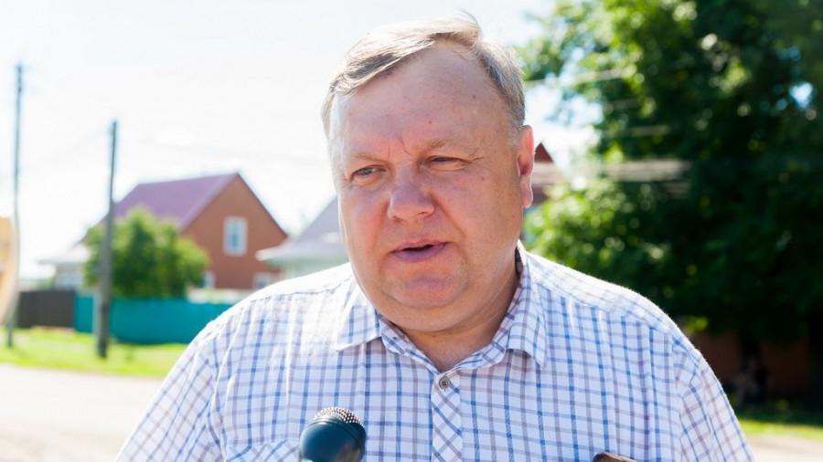 Валерий Карташев, главврач Тальменской ЦРБ