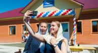 Открытие амбулатории в селе Луговом