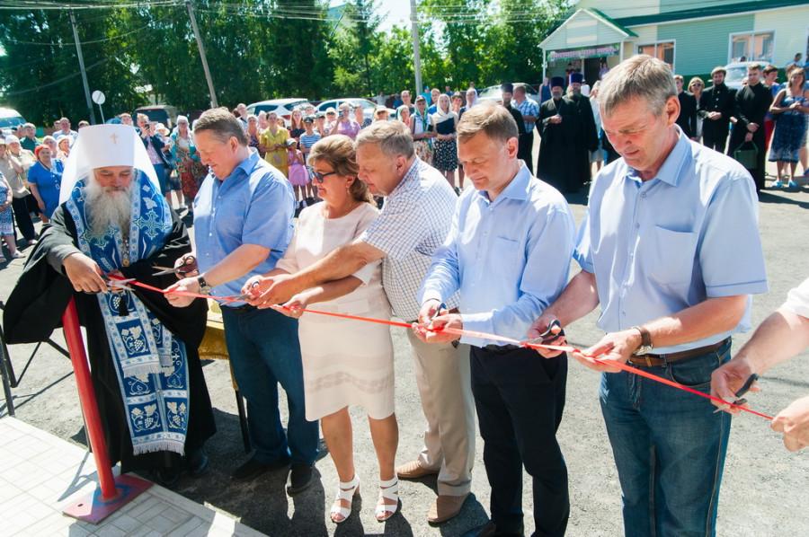 Открытие амбулатории в селе Луговом.