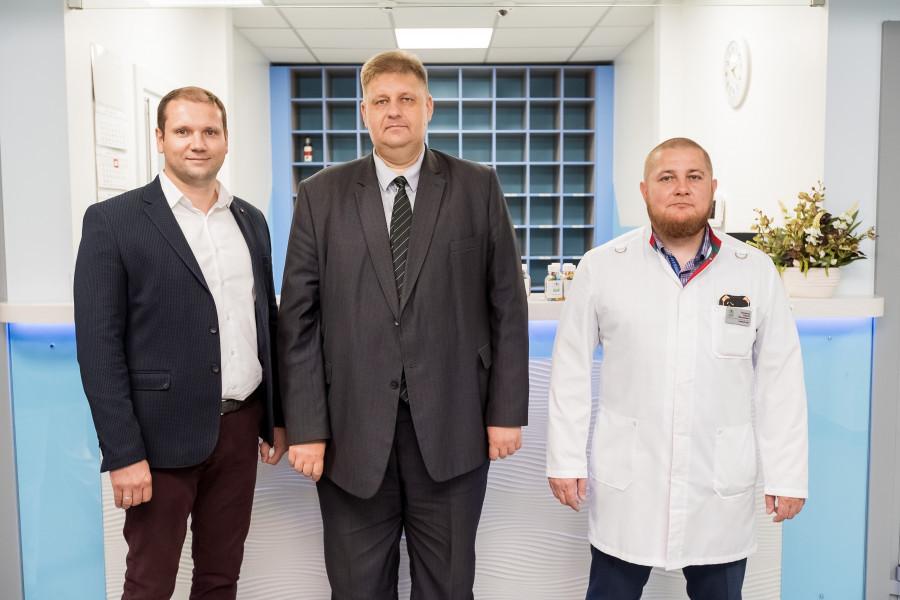 Открытие новой клиники «Добрый доктор» со стационаром.