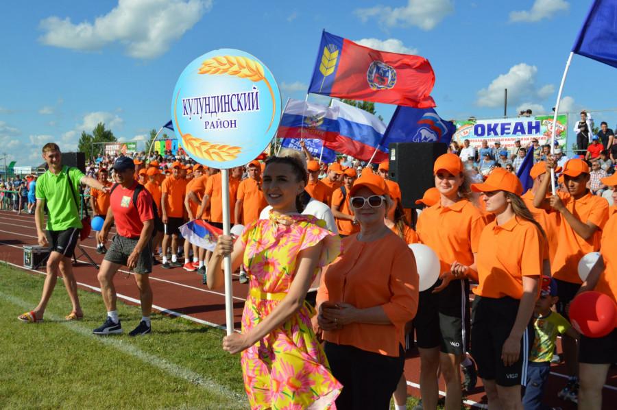 Олимпиада сельских спортсменов Алтайского края в Кулунде.