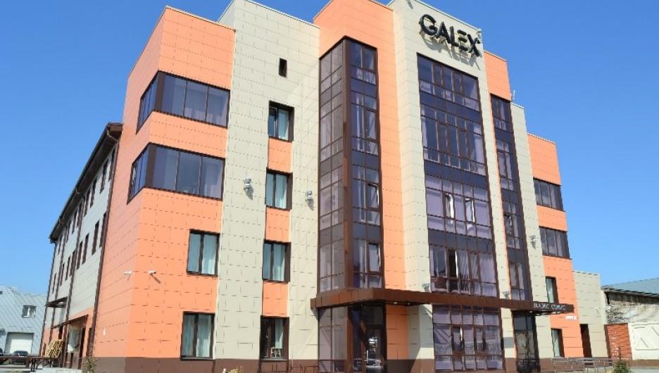 """Новое здание компании """"Галэкс"""" в исторической части Барнаула."""