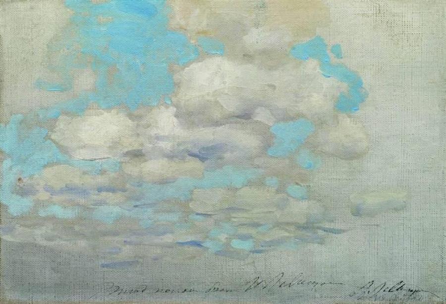 Исаак Левитан. Облака.