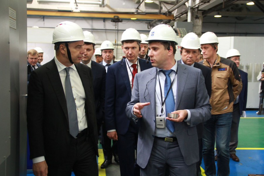 Российские министры оценили производительность труда в АО «Новомет-Пермь».