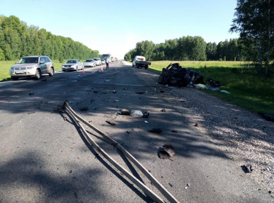 ДТП на трассе Барнаул - Новосибирск.