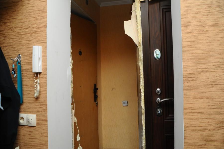 Дом на Северном Власихинском проезде, 60, где произошел сильный пожар