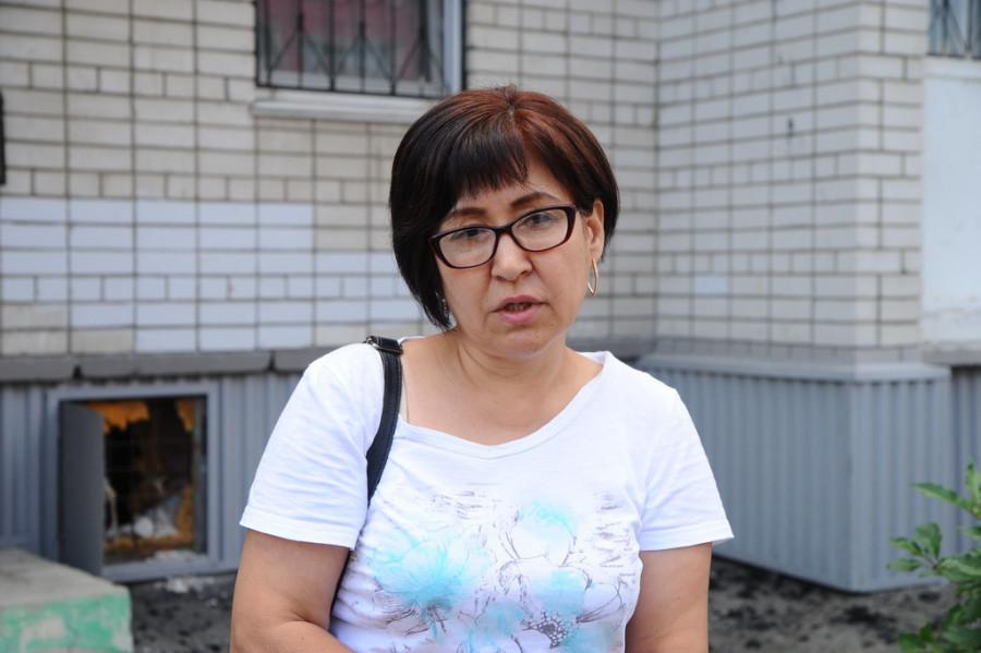 Айна Акпанова, управляющая домом.