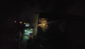 Пожар в Веселоярске Рубцовского района.