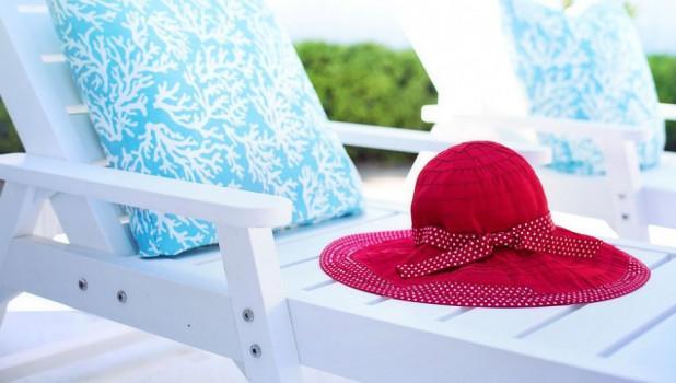 Пляж, жара.