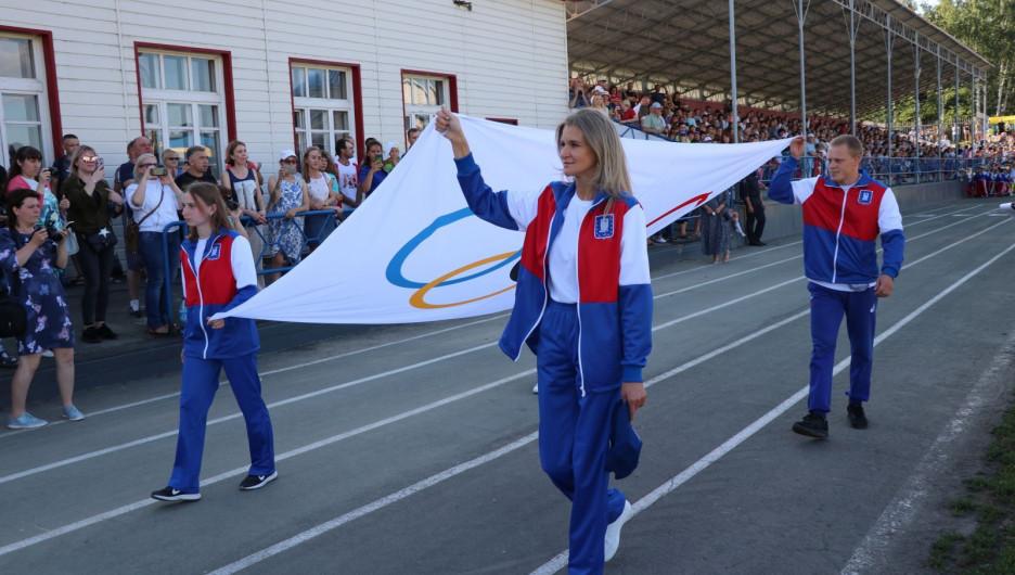 Летняя Олимпиада спортсменов малых городов Алтая