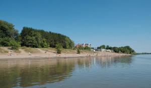 Пляж в Бийске.