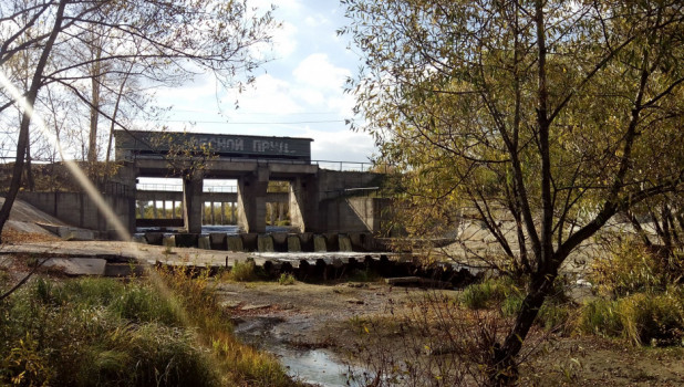 В районе бывшего пруда Лесной. Осень, 2018 год.