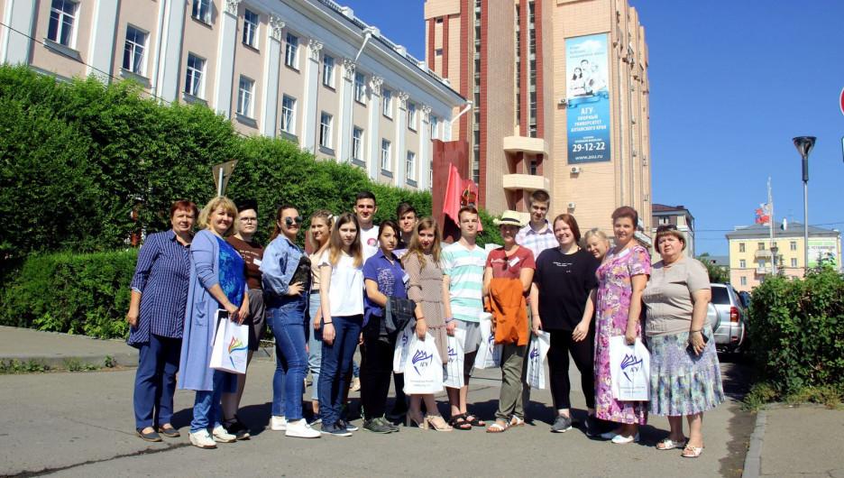 В АлтГУ установлены рекорды приемной кампании 2019 года.