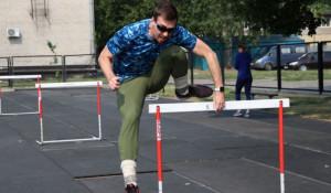 Сергей Шубенков на тренировке.