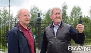 Губернатор Алтайского края Виктор Томенко и глава Барнаула Сергей Дугин.