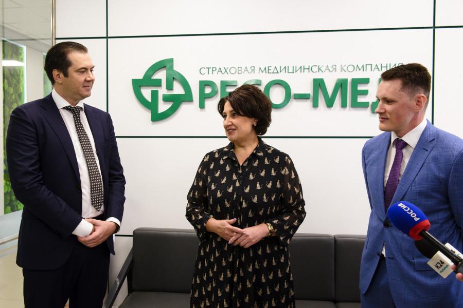 Открытие нового офиса страховой компании «РЕСО-МЕД» в Барнауле.