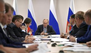 Владимир Путин в Иркутской области.