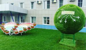 Новые арт-объекты в Барнаульском аэропорту.