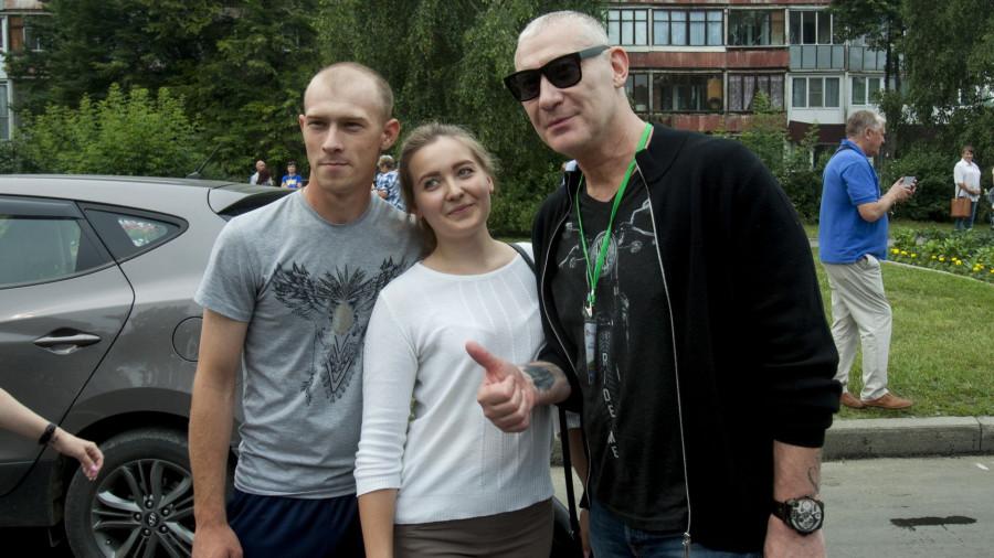 Игорь Жижикин на открытии Шукшинского фестиваля-2019 в Барнауле.