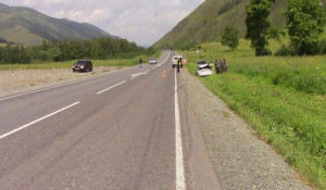 ДТП на Чуйском тракте в Республике Алтай. 22 июня 2019 года.