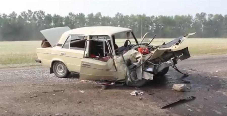 Авария в Романовском районе