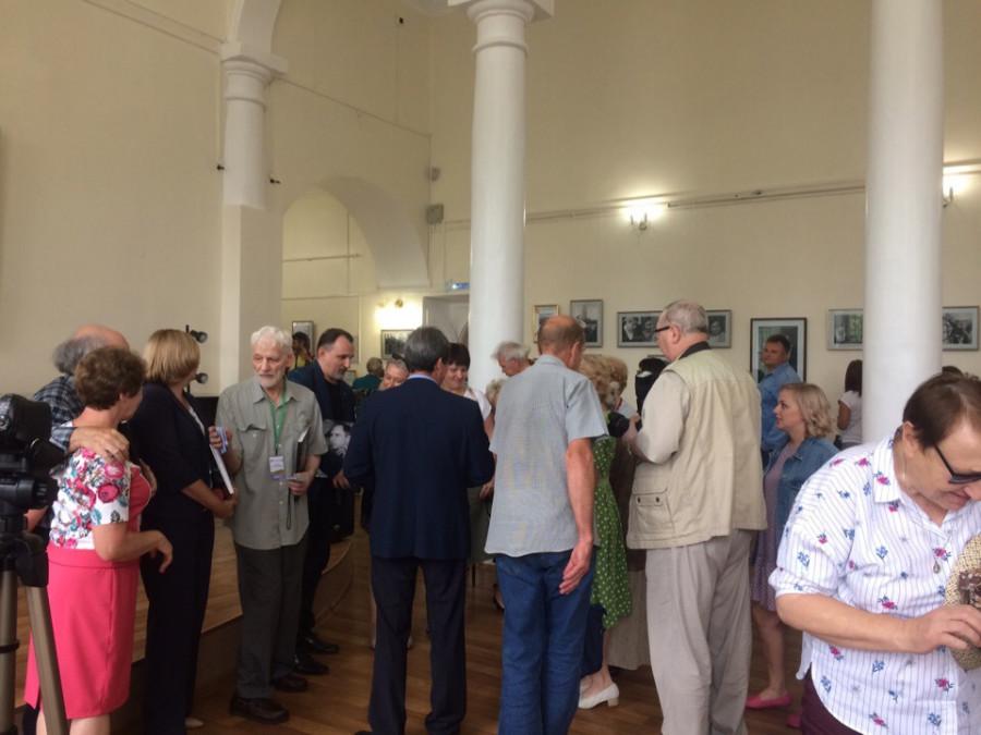 Открытие выставки «Василий Шукшин в фотографиях Анатолия Ковтуна»