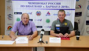 Виктор Селютин (главный судья соревнований) и Андрей Угаров (оргкомитет).