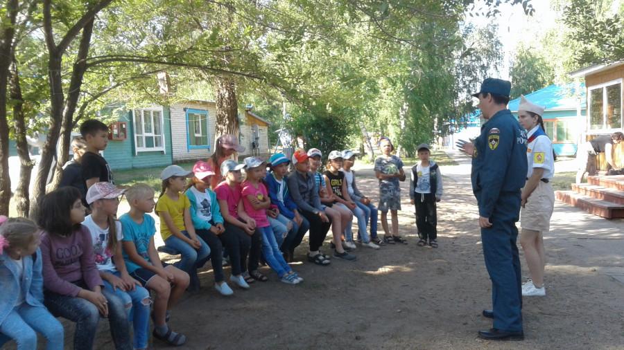 МЧС в детском лагере.
