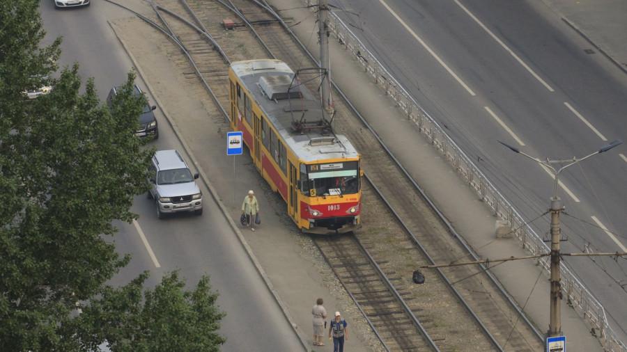 Трамвай.