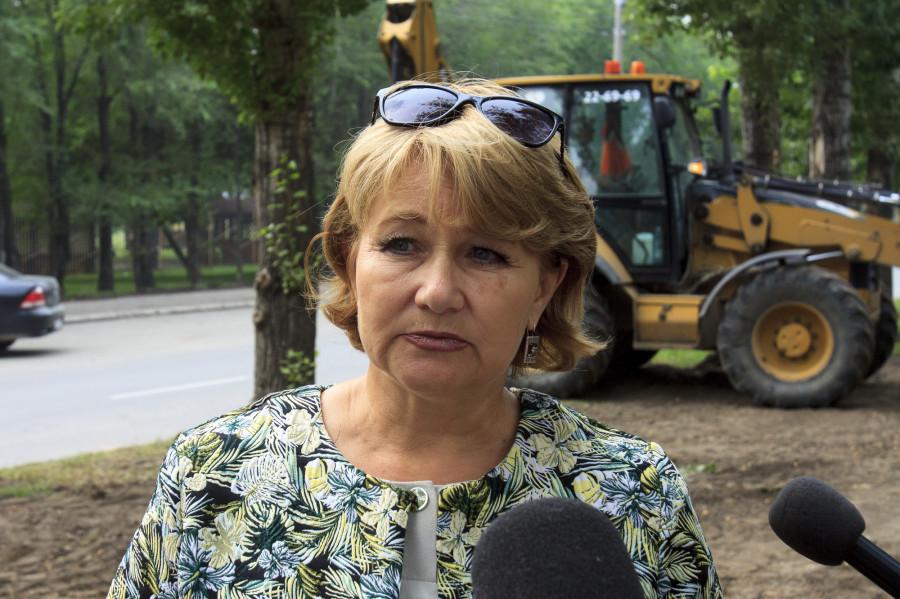 Вера Бирюкова.