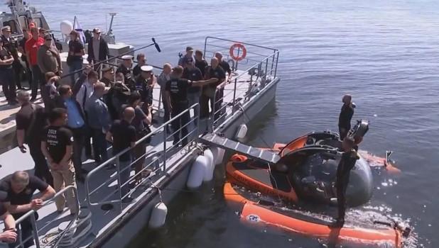 Появилось видео, как Путин опустился на дно Финского залива и осмотрел затонувшую подлодку