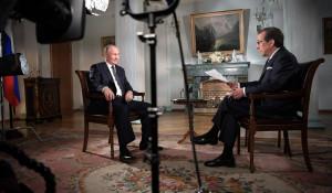 Интервью Владимира Путина американскому телеканалу Fox News.