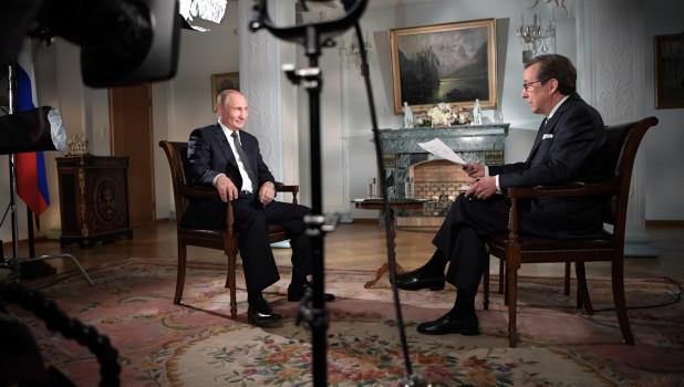 """""""Живое интервью"""" с Путиным номинировано на """"Эмми"""""""